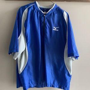 Mizuno Royal Blue Windbreaker